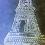 Eiffil Tower Inverted Poster