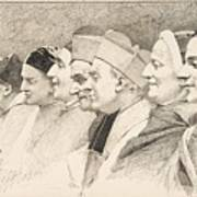 Eight Heads Of Ecclesiastics Poster