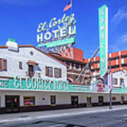 El Cortez Hotel On Fremont Street 2.5 To 1 Ratio Poster