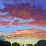 El Dorado Sunset Poster