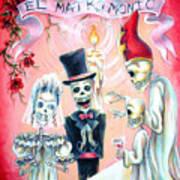 El Matrimonio Poster by Heather Calderon
