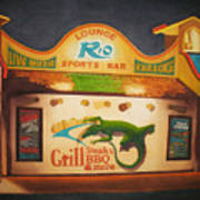 El Rio Poster by Vikki Wicks