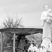 El Santuario De Chimayo Sculpture Garden 2 Poster