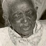 Elderly Woman Poster