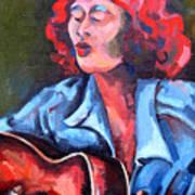 Eleanor Ellis - Diving Duck Blues Poster