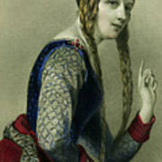 Eleanor Of Aquitaine, Queen Of Henry II Poster