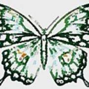 Election 2020 Presidential Candidate Catherien Lott Usa Green Butterfly Poster