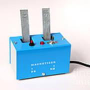 Electro-magnet Magnetizer Poster