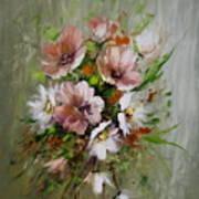 Elegant Flowers Poster