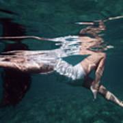 Elegant Mermaid II Poster