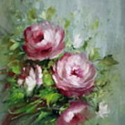 Elegant Roses Poster