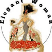 Elegant Woman Poster