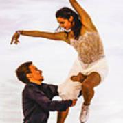 Elena Ilinykh And Ruslan Zhiganshin Poster