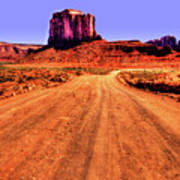 Elephant Butte Monument Valley Navajo Tribal Park Poster