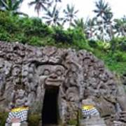 Elephant Cave Temple Poster