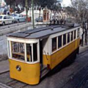 Elevador Da Gloria Funicular, Lisbon, Portugal, 1950's  Poster