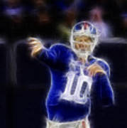 Eli Manning Poster by Paul Ward