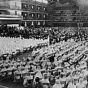 Elijah Muhammad Addressing An Assembly Poster