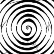 Eliptical Maze Poster