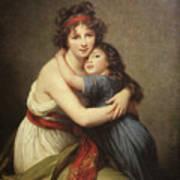 Elisabeth Vigee-lebrun, 1755-1842. Poster