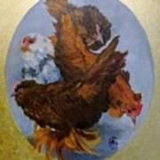 Elizabeth's Chickens Poster