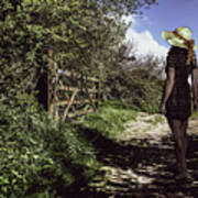 Eliza's Walk In The Countryside. Poster
