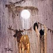 Elk Spirit Poster