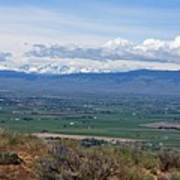 Ellensburg Valley With Sagebrush And Lupine Poster
