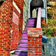 Ellicott City Steps Poster