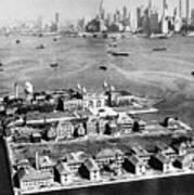 Ellis Island, 1933 Poster