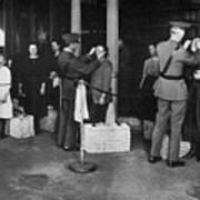 Ellis Island: Examination Poster