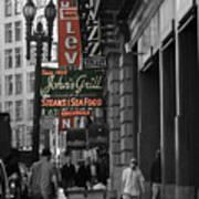 Ellis Street, San Francisco Poster