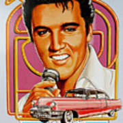 Elvis-an American Classic Poster