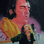 Elvis And Jon Poster