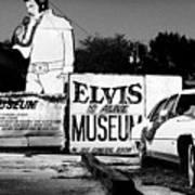 Elvis Is Alive Museum Poster