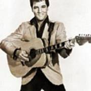 Elvis Presley By Mb Poster