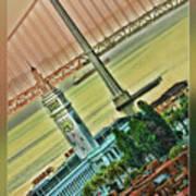 Embarcadero Horizon Poster