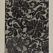 Embroidered Lace Poster
