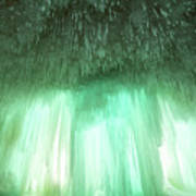 Emerald Cave - Grand Island On Lake Superior Poster