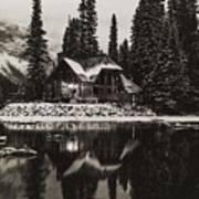 Emerald Lake, Canada Poster