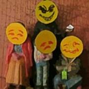 Emoji Family Victims Of Substance Abuse Poster