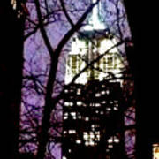 Empire State From Madison Park 1 Poster