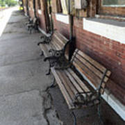 Empty Benches Poster