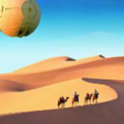 Encounter In The Gobi Poster