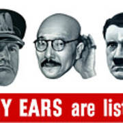 Enemy Ears Are Listening Poster