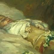 Enfant Mort Detail 1881 Poster
