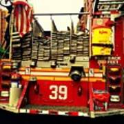 Engine 39 - New York City Fire Truck Poster