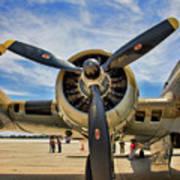 Engine B-17 Poster