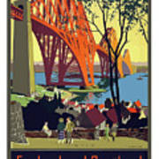 England And Scotland, Bridge Poster