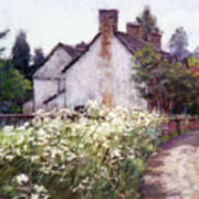 England Cottage Poster